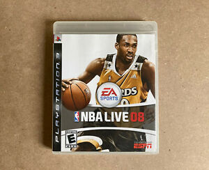 NBA Live '08 for PlayStation 3 (PS3, 2007) ~ PAL UK Complete