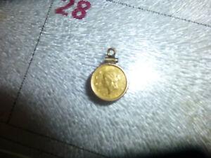 1854 1 Liberty Head Gold G$1 One Dollar Coin