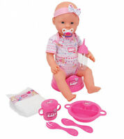 Simba 105039005 New Born Baby Funktionspuppe 43cm NEU OVP