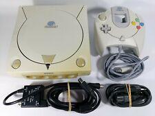 Original Sega Dreamcast Konsole inkl. Controller & Anschlusskabel - HKT-3030 PAL