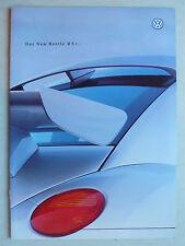 Prospekt Volkswagen New Beetle RSI con 225 CV, 8.2000, 8 páginas