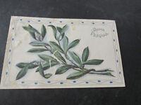 Carte Postale Vintage Illustré Années 30 Shipped De Roma