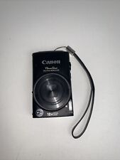 Canon PowerShot ELPH330 HS Digital Camera Black W/ Battery-NO CHARGER (UNTESTED)
