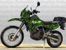 KLR 650 decals stickers 2000 - 2007 Lighting Green