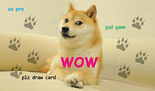 #59 Custom Playmat Doge Play Mat TCG CCG Mat Work Mat Large Game Mouse Pad