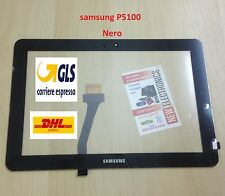 VETRO TOUCH SCREEN per SAMSUNG Galaxy TAB 2 10.1 P5100 P5110 NOTE N8000 NERO