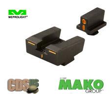 MAKO Meprolight Glock R4E Optimized Duty Night Sight Set Full Size ML12224O