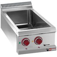 Modular Elektro Bainmarie Warmwasserbad Speisenwärmer 400x700x280mm Gastlando
