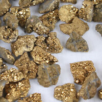 Natural Stone Crystal Geodes Agate Slice Gemstones Rough Reiki Mineral Specimen