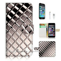 ( For iPhone 6 Plus / iPhone 6S Plus ) Case Cover Black White Pattern P0501