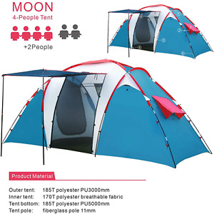 Tent For Camping Hiking Outdoor Automatic Instant Pop up Tents UV Waterproof USA