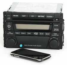 Mazda Tribute 2005-2006 AM FM CD Radio w Bluetooth Music PN BL8F66950A Face 4166