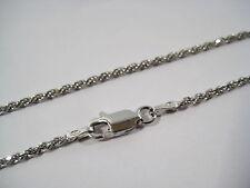 Collane da 40 a 90 cm, catena corda VERO argento 925 ,1,6 mm, TOP qualità/prezzo