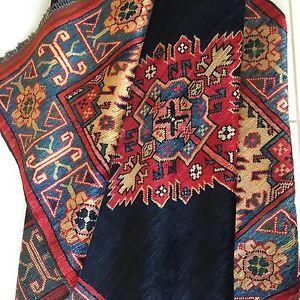 Teppich Afghan Turkmen Kazak Handgeknüpfte Oriental Rug Tapis Alfombra Blue