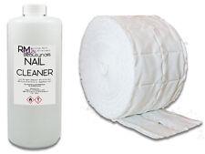 1000 ml Nagel Cleaner Entfetter Schwitzschicht und 500 Zelletten Spar Set Iso