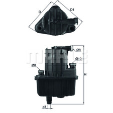 Fuel Filter - Mahle Kl 469