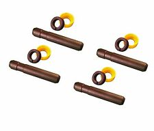 Cat Style Backhoe Bucket Tooth Pin and Retainer - Set of 4.