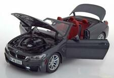 Paragon 2014 BMW M4 F83 Convertible Mineral Grey Rare Dealer 1:18*Brand New!