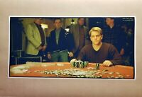 """Rounders Poker 12"""" X 24 Poster Movie Scene Mike Game Room Man Cave Texas Hold em"""