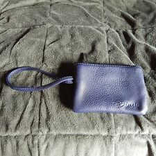 2 Wristlets NWOT 1 in Navy by BLUSH (Leather?) ; the other Preppy Tan, Brown