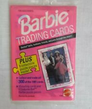 TEN BARBIE Trading Cards Vintage NEW in package