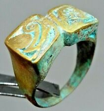 EXTREMELY ANCIENT RARE ROMAN BRONZE RING LEGIONARY OLD ARTIFACT AUTHENTIC