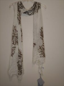 Max Mara  Womens Ivory modal wool Scarf One Size