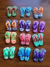 Miniature Dolls House Accessories one Pair of Flip Flops Thongs 1:12th scale