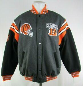Cincinnati Bengals NFL G-III Men's Reversible Button-Up Jacket