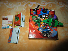 Lego 76064 Super Heroes Mighty Micros  Spider-Man contre le Bouffon Vert COMPLET
