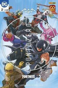 BATMAN / FORTNITE: PUNTO ZERO n. 2 + CODICE 2021 Panini