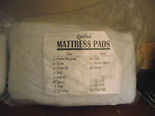 Nip! Twin sz Quilted top mattress pad cover -Prevents bedbugs-sealed in pkg!Fs!