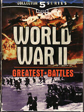 World War II Greatest Battles - Box Set of 5 VHS Tapes