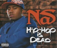 NAS Hip Hop is dead 2 TRACK CD NEW - NOT SEALED