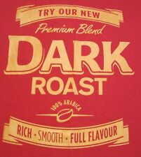"TIM HORTON'S Coffee ""Dark Roast"" T Shirt Size Adult Extra Large (Unisex)-NEW"