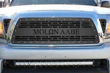 Custom Aftermarket Grille for 05-11 Toyota Tacoma TRD Stainless Steel MOLON LABE