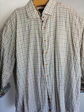 Steven Land Men's 20 36/37 Tall Sleeve French Cuff Button Up Shirt