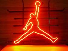 "New Basketball Jumpman Bar Cub Party Light Lamp Decor Neon Sign 17""x14"""