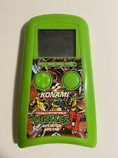 Konami Teenage Mutant Ninja Turtles II Splinter Speaks Hand-Held 1990 (Tested)
