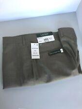 Polo Ralph Lauren Mens Dress Pants Tan Flat Front Size 36x30 $95 MSRP
