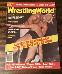 1975 WRESTLING WORLD WINTER SUPERSTAR BILLY GRAHAM ANDRE THE GIANT WINTER