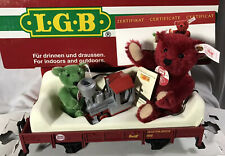 LGB #43100 ~ Steiff Bear Collectors Edition (With Real steiff Bears) ~ IN BOX