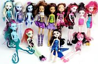 Monster High Doll Huge Lot Of 13 Dolls & Accessories Draculaura Clawdeen Lagoona