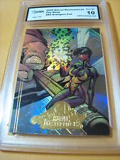 THE WASP 2008 MARVEL MASTERPIECES AVENGERS FOIL # A9 GRADED 10  L@@@K