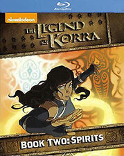 The Legend Of Korra - Spirit : Book 2 (Blu-ray, 2014, 2-Disc Set)