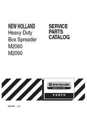 New Holland M2080m2090 Heavy Duty Box Spreader Parts Catalog