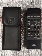 Honda Odyssey & Pilot Acura MDX DVD Remote Control Video Play Entertainment OEM