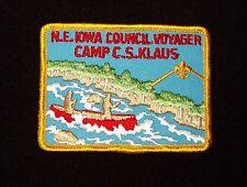 BOY SCOUT  CAMP C.S KLAUS  VOYAGEUR  PP  N.E. IOWA CNCL