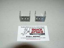 Antares Combo Vending Machine (2) Coin Mech 3 Hole Snack Brackets