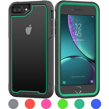 For iPhone 8 7 6s 6 Plus Heavy Duty Hybrid Shockproof Armor Phone Case Cover
